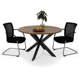 ronde vergadertafel
